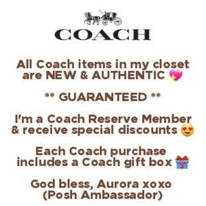Coach Bags, Wallets & Accessories!!!